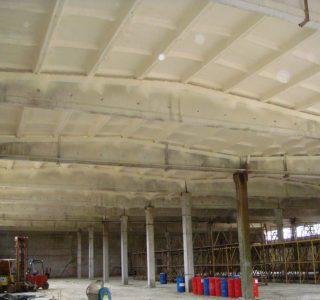 Кировоград: теплоизоляция потолка ангара